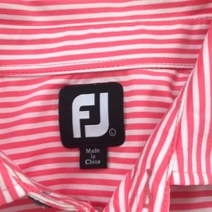 FootJoy Shirts - Foot joy golf polos lot of 2 large striped